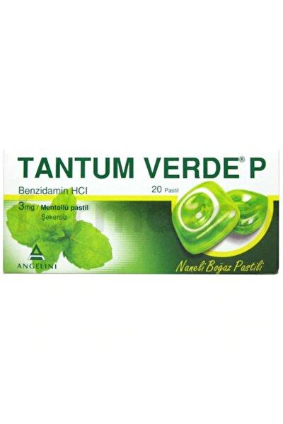Verde P Naneli 20 Pastil