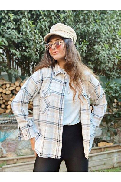 Kadın Oduncu Ekose Gömlek