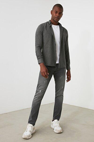 Gri Erkek Skinny Jeans TMNAW21JE0818