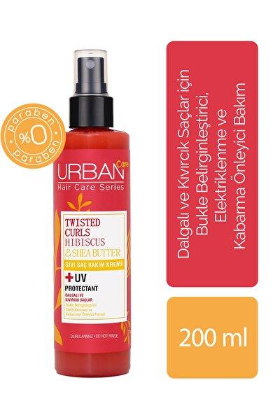 Hibiscus ve Shea Yağı İçeren Bukle Belirginleştirici Sıvı Saç Bakım Kremi 200 ml 8680690703874