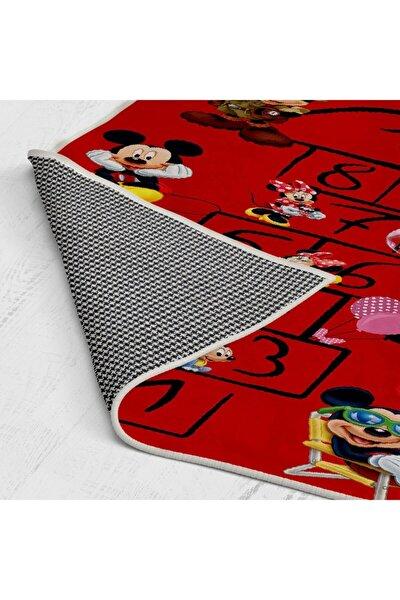 Renkli Mickey Mause Seksek Desenli Çocuk Halisi