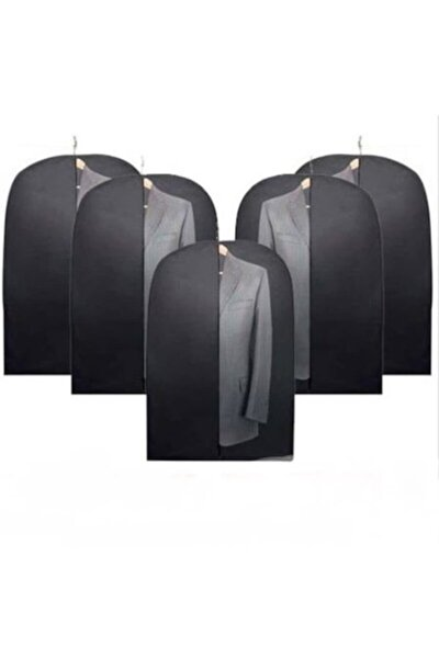 5 Adet Takım Elbise Kılıfı Koruyucu Kılıf