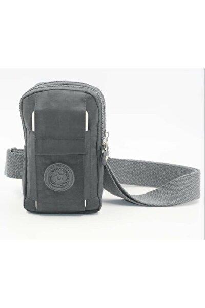Unisex Klınkır Telefon Bölmeli Mini Badybag
