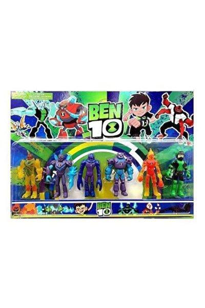 Allıen Force 6'lı Figür Seti, Alien Force Action Figure, Benten, Ben Ten