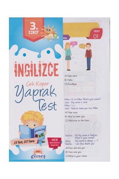 3. Sınıf Ingilizce Çek Kopar Yaprak Test-yeni