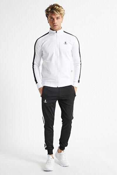 Erkek Eşofman Takımı (beyaz) Seet7-014-002