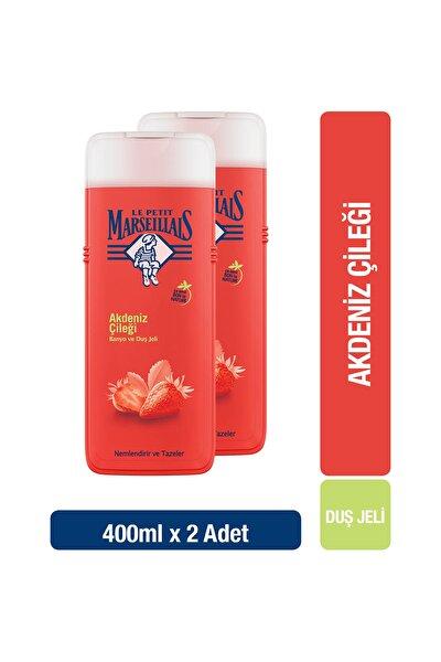 Duş Jeli Akdeniz Çileği 400 ml x 2