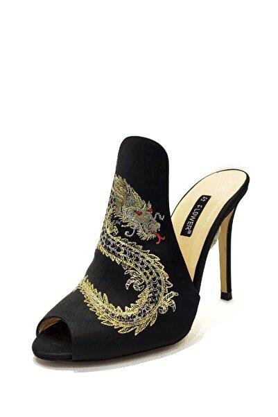 Ince Topuk Süet Ayakkabı