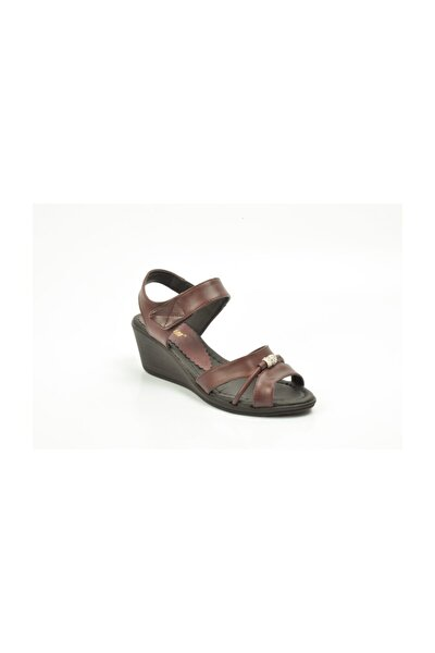 Kadın Sandalet Bordo