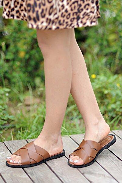 Kadın Kahverengi Terlik