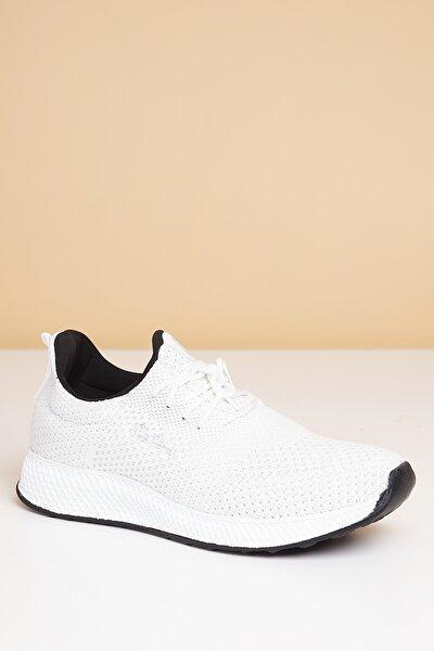 Erkek Günlük Spor Ayakkabı-Beyaz