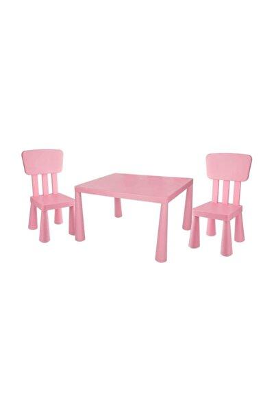 Çocuk Masası Ve 2 Adet Sandalye Takımı Mammut