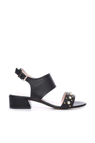 Siyah Kadın Ayakkabı 652 1874 BN AYK