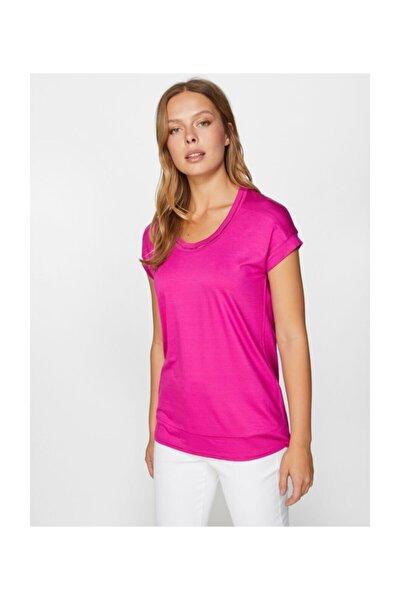 Yuvarlak Yaka Kısa Kol T-shirt 60018