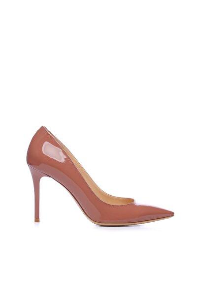 Hakiki Deri Pembe Kadın Klasik Ayakkabı 613 23180 BN AYK