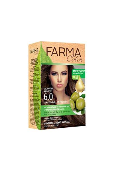 Farmacolor Saç Boyası 6.0 Koyu Kumral