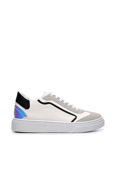 Beyaz  Kadın Vegan Sneakers & Spor Ayakkabı 689 502 RG BN AYK Y19