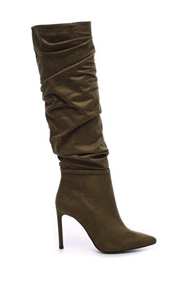 Yeşil Kadın Vegan Çizme Çizme 26 54701C BN CZM SK19/20