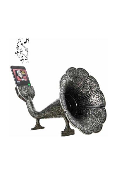 Akustik Cep Gramafonu Gramafon Nostaljik Hediyelik Eşya