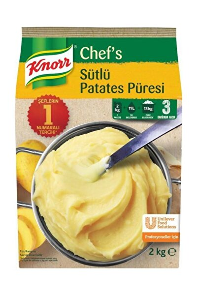 Sütlü Patates Püresi 4 X 2 kg