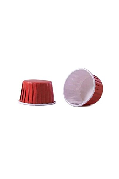 Kırmızı Muffin Kabı 50x39 25'li