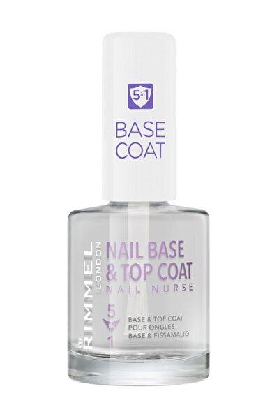 Tırnak Bakım Cilası - Nail Nurse Base & Top Coat 5 in 1 3607342651982