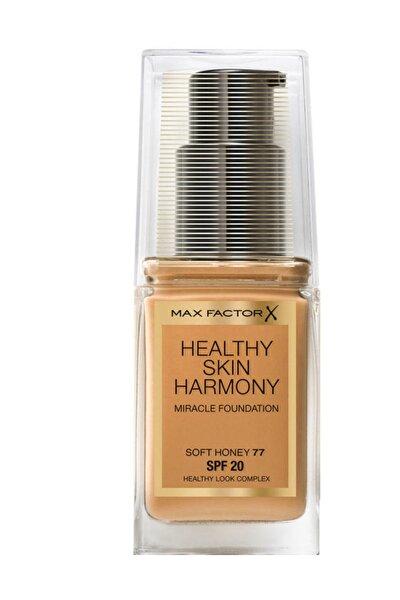 Fondöten - Healthy Skin Harmony Miracle Foundation No: 77 Soft Honey 8005610433486