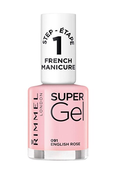 Oje - Super Gel French Manicure 091 English Rose 12 ml 30121553
