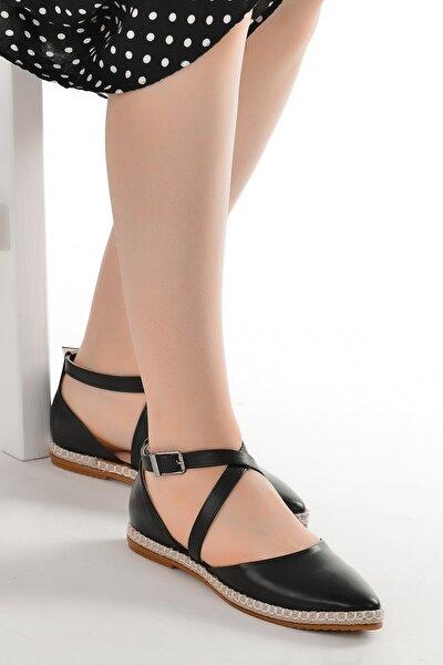 Cilt Günlük Anatomik Kadın Babet Ayakkabı 177-36