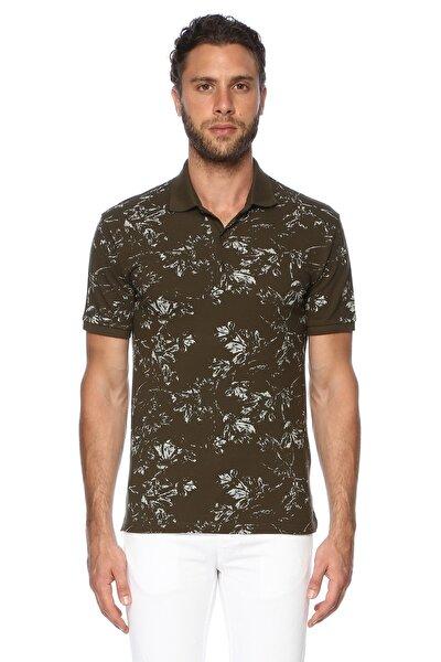 Erkek Polo Yaka Slim Fit Haki Tshirt 7003326