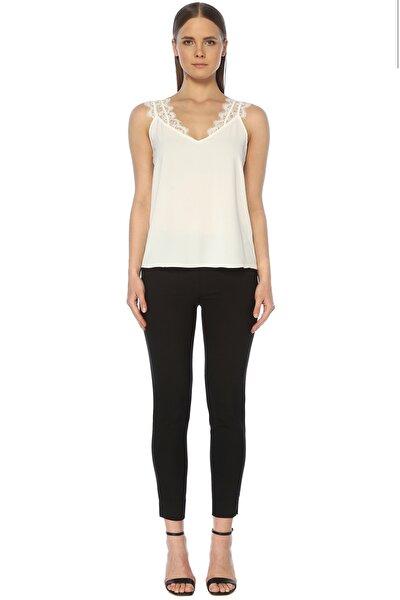 Kadın Slim Fit Siyah Pantolon 1073362