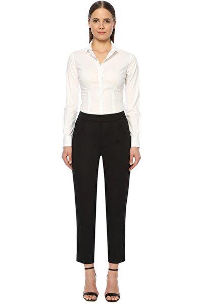 Kadın Slim Fit Siyah Pantolon 1073865