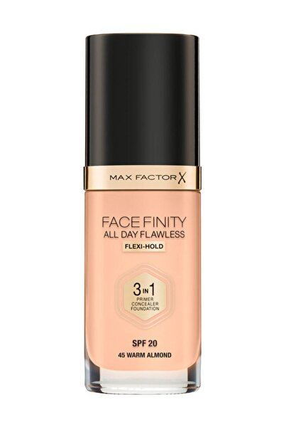 Fondöten - FaceFinity All Day Flawless Foundation 45 Warm Almond 3614225851582