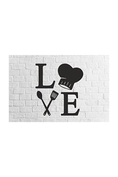 Love Mutfak Figürlü 3d Mdf Tablo Evinize Ofisinize Yeni Tarz Wall