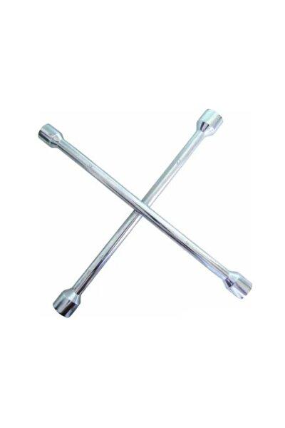 Çelik 4 Uçlu Bijon Anahtar