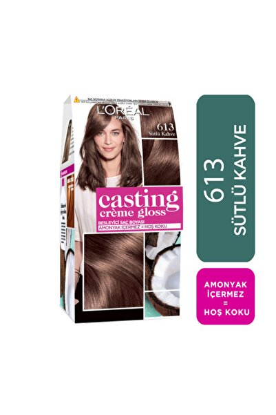 Saç Boyası - Casting Creme Gloss 613 Sütlü Kahve 3600523302888