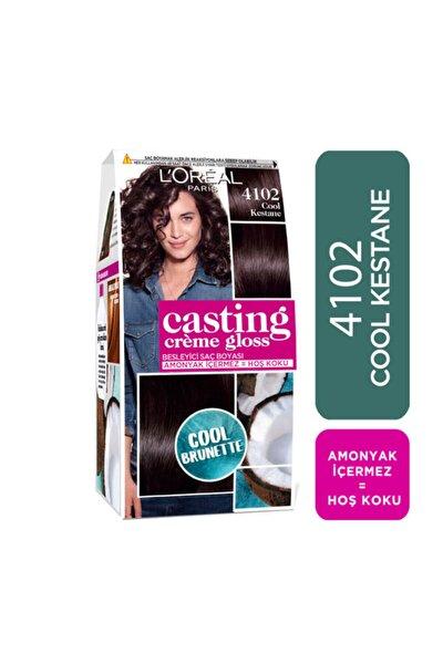 Saç Boyası - Casting Crème Gloss 4102 Cool Kestane 3600523807154