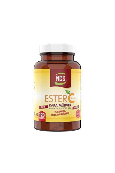 Ester C Vitamini 1000 mg 120 Tablet Kara Mürver Turunçgil