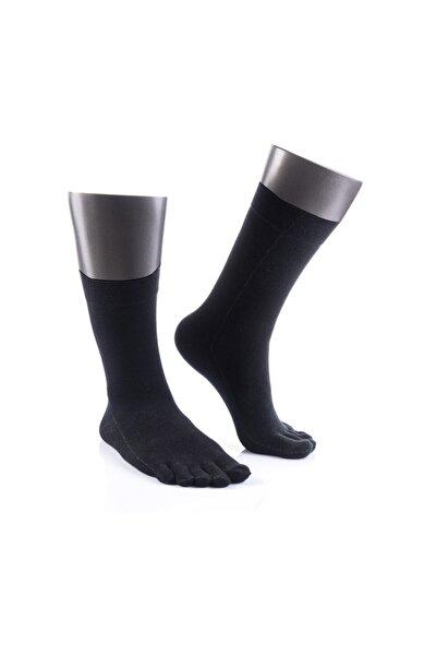 Mantar Önleyici Parmaklı Soket Gümüş Çorap