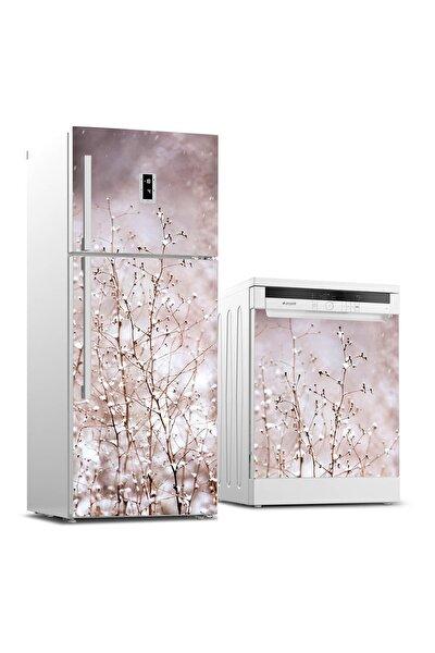 Buzdolabı Ve Bulaşık Makinesi Takım Sticker 0083