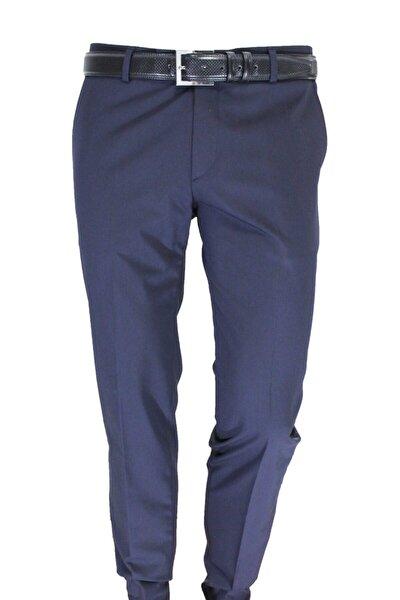 Erkek Pantolon Lacivert Slim Fit 83149