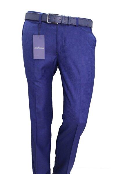 Erkek Pantolon Parlament Puanlı Slim Fit 83123