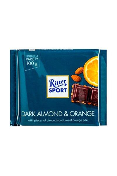 Dark Almond Orange Çikolata