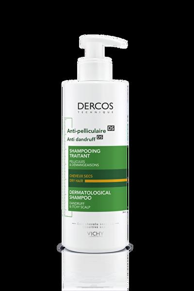 Dercos Anti-Dandruff Kuru Saçlar İçin Kepeğe Karşı Etkili Bakım Şampuanı 390 ml 8690595028071