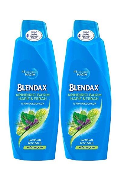 Bitki Özlü Şampuan 550 ml X 2 Adet