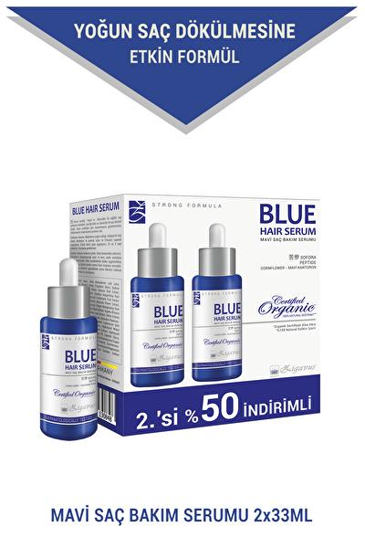 Blue Saç Bakım Serumu 2x33 ml (2.si%50 İndirimli) - Mavi Su 8699349130848