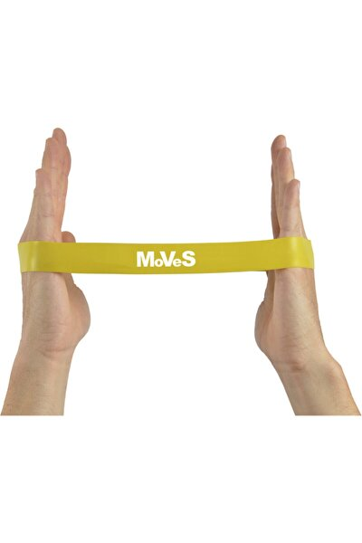 2,5x30 cm Kas Germe Güçlendirme Pilates Direnç Loop Band Seti 4 Adet