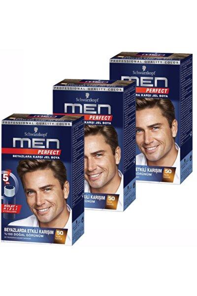 Men Perfect 50 Açik Kahve 3 Li