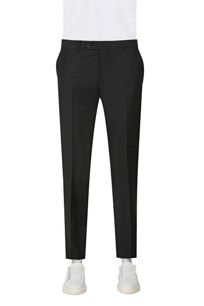 Siyah Renk Erkek  Pantolon (Slim Fit)