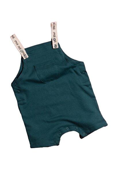 Askılı Bebek Tulum-yeşil